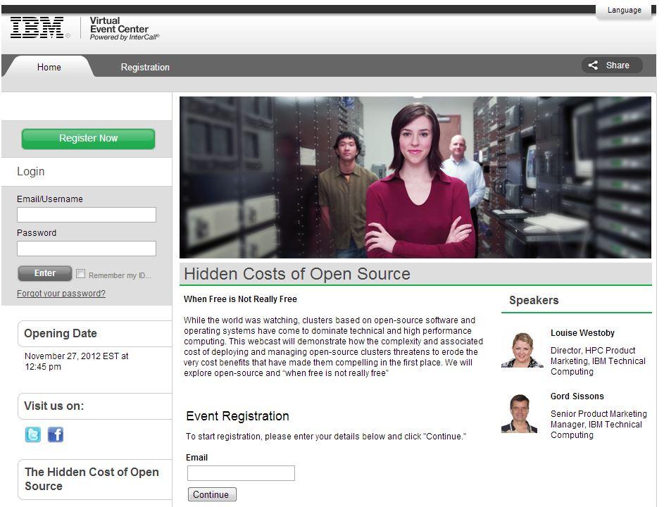 Hidden cost of open source webinar